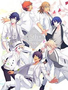 Uta no Prince-sama 5th Anniversary Book Anime Manga Illustration Art Book