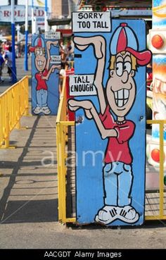 Coney Island Height Requirements