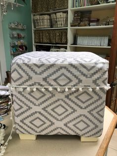 Hi friends! today I'm sharing these ottomans that I have had in our guest room that needed a serious makeover. I love how they...