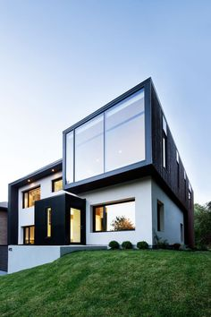 House Design, Beautiful Contemporary House Design Architecture Using Concrete And Wood ~ Contemporary Architecture: Concrete House Architecture Design, Beautiful Architecture, Residential Architecture, Contemporary Architecture, Modern Contemporary, Montreal Architecture, Installation Architecture, Building Architecture, Contemporary Furniture