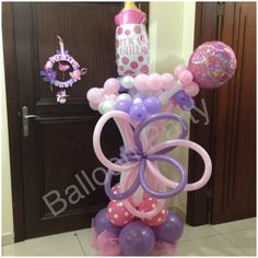 Its a girl balloon decoration