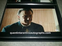 My Quentin Tarantino Autograph Collection: Harvey Keitel and Quentin Tarantino! Reservoir Dog...