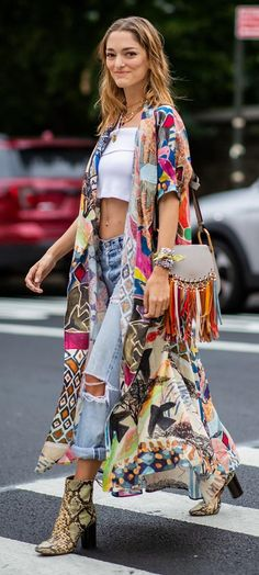 New Style Fashion Street Boho Chic Ideas Mode Hippie, Hippie Style, Hippie Boho, Boho Girl, Boho Gypsy, Boho Outfits, Fashion Outfits, Womens Fashion, Boho Chic Outfits Summer