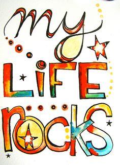 My life rocks via etsy