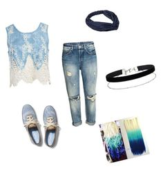 """""""Untitled #30"""" by temicker ❤ liked on Polyvore featuring Sans Souci, Keds, Miss Selfridge and challenge"""