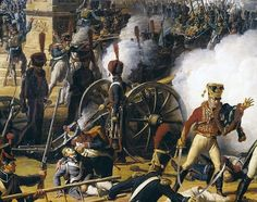 "1809 ""Marshal Lannes leads the storming of the citadel at the Battle of Ratisbon"" Napoleón vence a los austriacos."