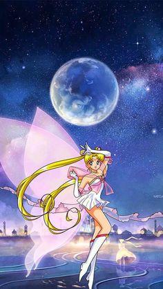 By Artist Unknown. Sailor Moom, Arte Sailor Moon, Sailor Moon Stars, Sailor Moon Fan Art, Sailor Moon Character, Sailor Moon Usagi, Sailor Moon Crystal, Sailor Princess, Moon Princess