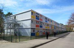 Logement pour demandeurs d'asile, DE-Berlin - CONTAINEX