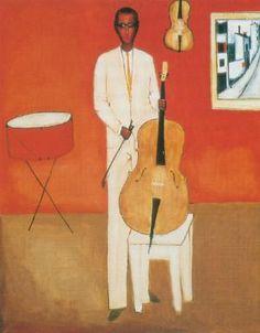 Jerzy Nowosielski - Wiolonczelista, 1959