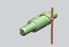 Barrel cam follower