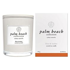 Standard Candle, Lilies & Leather by Palm Beach Collection