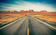 """When I'm driving the highway by myself is when I write best"" - Willie Nelson. #wallpaper - Highway - rebelwalls.com"