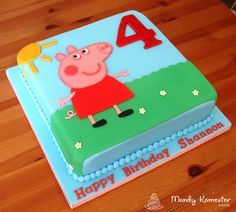 This was a joy to create for a little fan of Peppa!