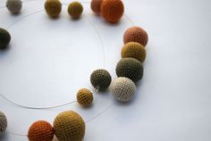 I need to make some of these adorable crochet beads.