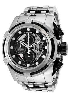 Invicta 12721 Watches,Men's Bolt Automatic Chronograph Black Dial SS, Men's Invicta Automatic Watches