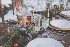 Evergreen Winter Wedding Inspiration