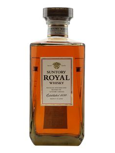 SUNTORY ROYAL WHISKEY: Suntory Royal Whisky is a blended Japanese whiskey that hit the shelves back in 1960. It was first produced in honour of the 60th anniversary of Suntory - here's to many more! We've even had a few rare antique bottles of this in our Antique Spirits collection.