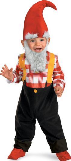 Garden Gnome Infant / Toddler Costume from CostumeExpress.com