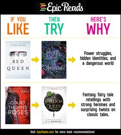 Like Try Why #61 from Epic Reads - #bookrecs #epicreads