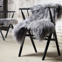 I've just found Finest Icelandic Luxury Grey Sheepskin. A stunning, handpicked rare breed Icelandic grey dyed sheepskin of the highest quality. West Elm, Pottery Barn, Grand Luxe, Sheepskin Throw, Dry Carpet Cleaning, Fur Rug, Nature Collection, Style Deco, Interior Stylist