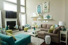 Uma paleta de cores incrível para decoração... talvez para o quarto de casal