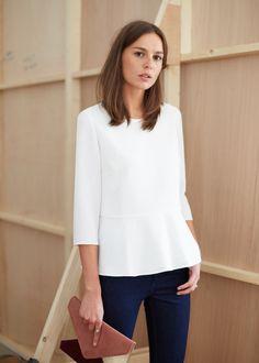 Une petite blouse péplum > Sézane - Blouse Swing = Marthe de RdC ?