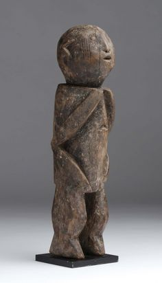 Ancestro estatua Tchamba, Togo - Madera dura ..., arte africano en la venta de habitaciones Chinon | sala de subastas Chinon