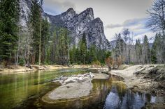 Three Brothers, Yosemite National Park jigsaw puzzle in Great Sightings puzzles…