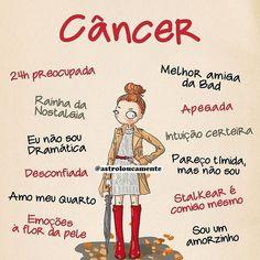 Sou eu Virgo And Cancer, Cancer Horoscope, Astrology Zodiac, Zodiac Signs, Signo Virgo, Cancerian, Facts, Lettering, Humor