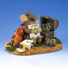 A Treasure of Memories Charming Tails… Has the tiniest little mouse babies I've seen in any figurine! A MUST have for my collection!!