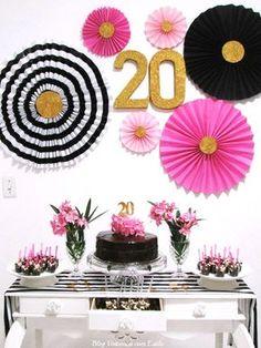 Virtuosas com Estilo: {É festa!} Completando 20 primaveras... Minha festa Kate Spade inspired!!
