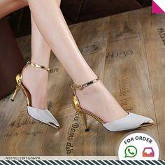 SKU: N91YLLEWTG06V9 Colors: Golden, Silver Size: 37, 40 Category: Shoes > Pumps Weight: 0.551 kg #Vivoren #Vivoren #Fashion