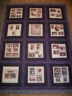 Custom Photo quilt, will be on the auction block starting bid at $175 to have your own custom photo quilt made! http://tophatter.com/auctions/10715?campaign=community