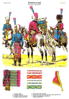 SOLDIERS- Rousselot: NAP- France: Chasseur a cheval 1800-1815 (pl 83) 1, by Lucien Rousselot.
