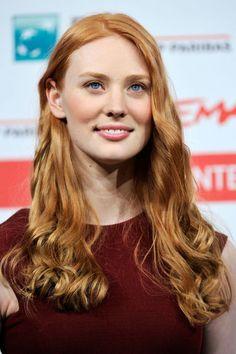 Deborah Ann Woll - I really want red hair