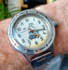 My vintage Vostok Amphibia. Dates from mid 1980's, keeps great time.