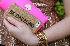 Kate Spade Dazzling iPhone case.