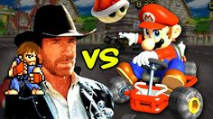 Chuck Norris vs Mario Kart.  Chuck Norris Humor from  tumblr