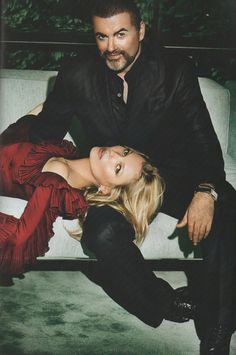 Kate Moss & George Michael | Mario Testino | Vogue Paris October 2012 | 'King George' - 3 Sensual Fashion Editorials | Art Exhibits - Anne of Carversville Women's News