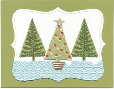 New Festival of Trees set! by Soozie4Him - Cards and Paper Crafts at Splitcoaststampers