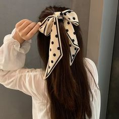 Scarf Hairstyles, Hair Ties, Color Black, Polka Dots, Dreadlocks, China, Beauty, Products, Shopping