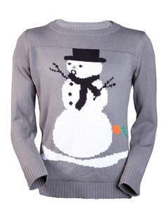 "Oh Faced Snowman, The perfect sweater for your Christmas sweater party. $62 at JingleBallz.com  ""Look, man, I ain't fallin' for no banana in my tailpipe!"""
