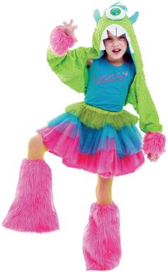 Deluxe Girls Uggsy Costume - Party City