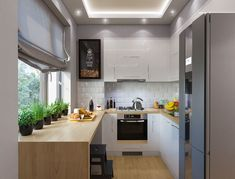 10 Kitchen Layout Mistakes And 30 Open Concept Kitchens (Pictures of Designs & Layouts) - Di Home Design Interior Design Kitchen, Kitchen Decor, Kitchen Layouts With Island, Sweet Home, Grey Kitchen Cabinets, Home And Deco, Cool Kitchens, Melbourne, Home Decor