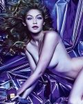 Gigi Hadid Poses Naked for Tom Ford Fragrance See the Sultry Picture