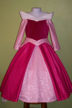 """Make it pink!"" Sleeping Beauty costume."