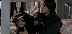 Dean comforts a heartbroken Rory.