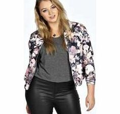 boohoo Julia Floral Scuba Bomber - multi pzz99061 Do the darker side of floral in this dusky pastel bomber jacket . Update your look with metallics - think holographic heels , a silver clutch and pair of skinny jeans . http://www.comparestoreprices.co.uk/womens-clothes/boohoo-julia-floral-scuba-bomber--multi-pzz99061.asp