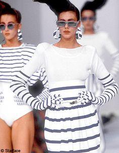 Mode 1980: la mode des années 80 vu par elle.fr - Elle Kenzo, 80s Fashion, Mannequins, Pulls, Sportswear, Mini Skirts, How To Wear, Women, Inspiration