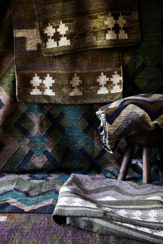 Mariella Ienna rug designs, available exclusively from Cultiver. Photo - Cath Muscat, styling – Nicolle Sullivan.